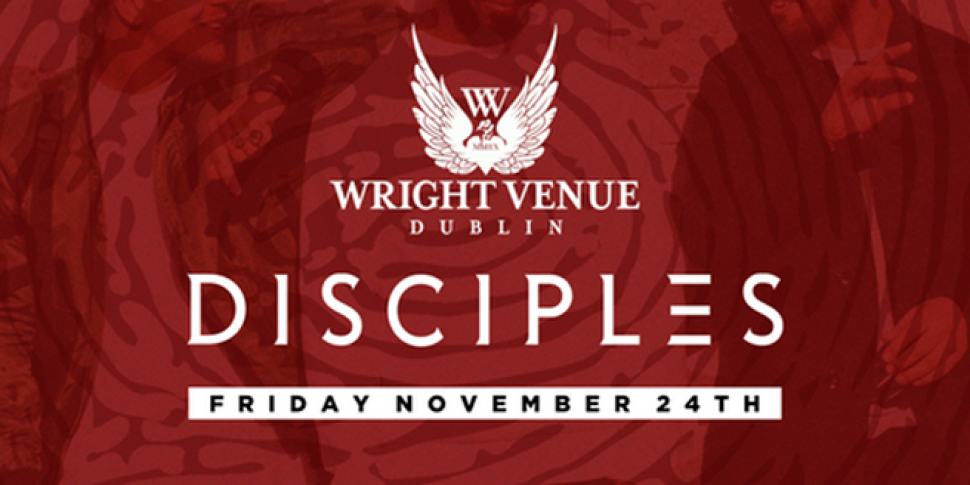 Disciples Are Coming To The Wright Venue