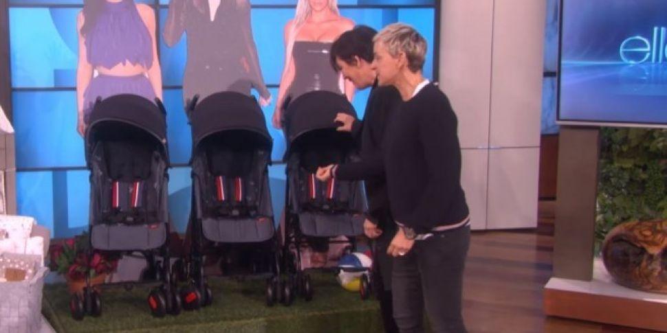 Kris Jenner Talks Kim, Khloe And Kylie's Pregnancies On Ellen