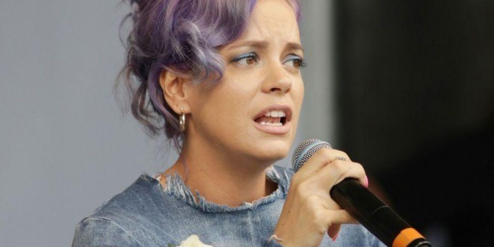 Lily Allen Accuses James Corden Of Coming Onto Her
