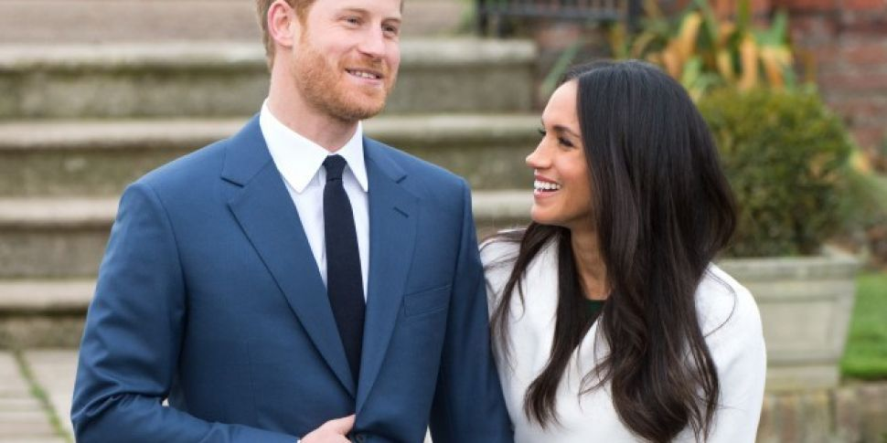Prince Harry And Meghan Markle Show Off Engagement Ring