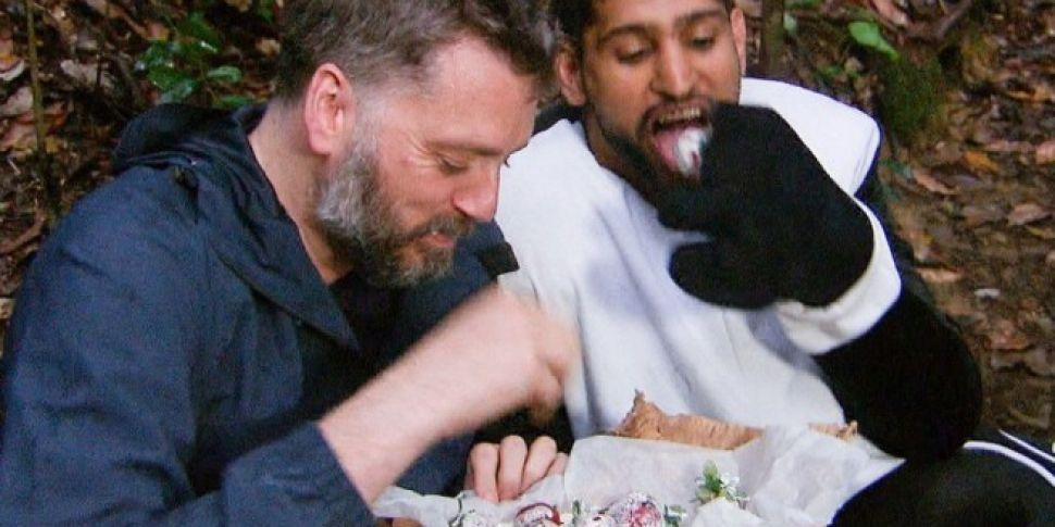 Iain And Amir Cause I'm A Celeb Controversy Over Strawberries