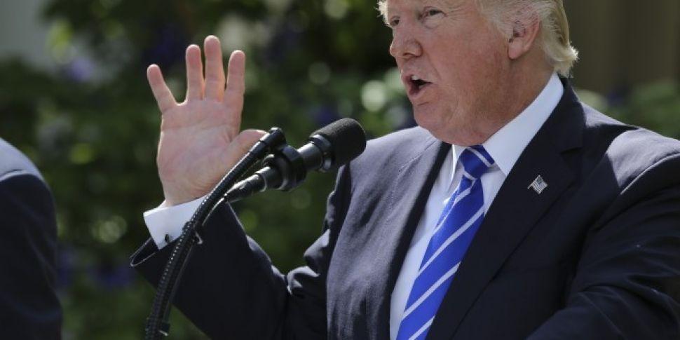 """Donald Trump 'Sings' Dua Lipa's Hit """"New Rules"""""""