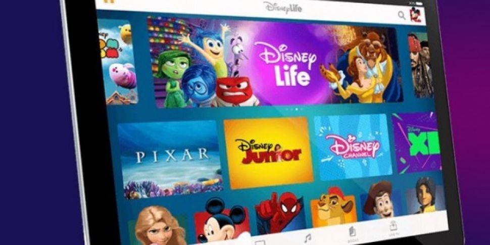 Disney Streaming Service Now Available In Ireland | SPIN1038