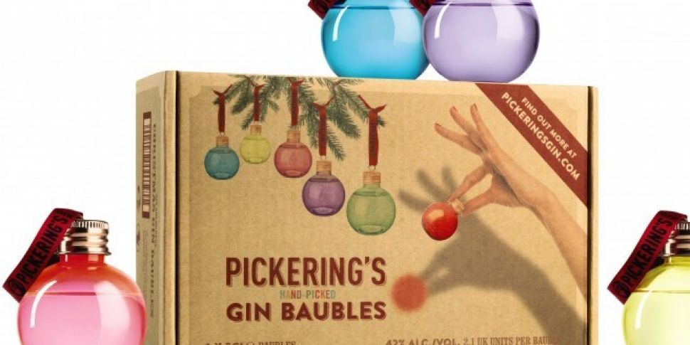 Aldi Are Selling Gin-Filled Baubles This Christmas