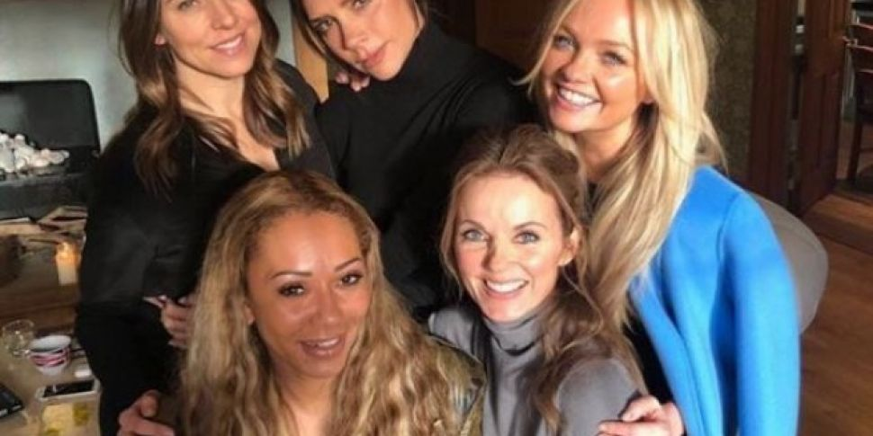 Mel C Reveals Spice Girls Are...