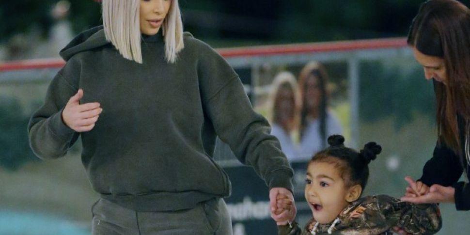 Kim Kardashian Pictured With C...