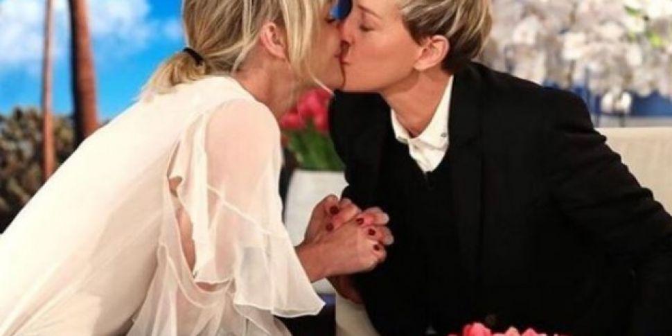 Portia De Rossi Gives Ellen De...