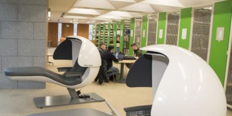 Maynooth University Introduce 'Napping Pods'