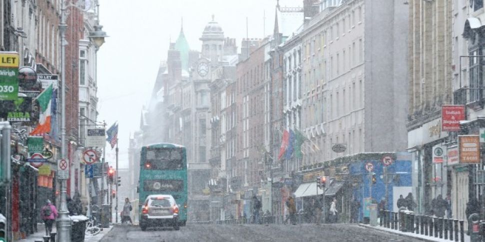 Met Eireann Issues Status RED Snow And Ice Warning For Entire Country
