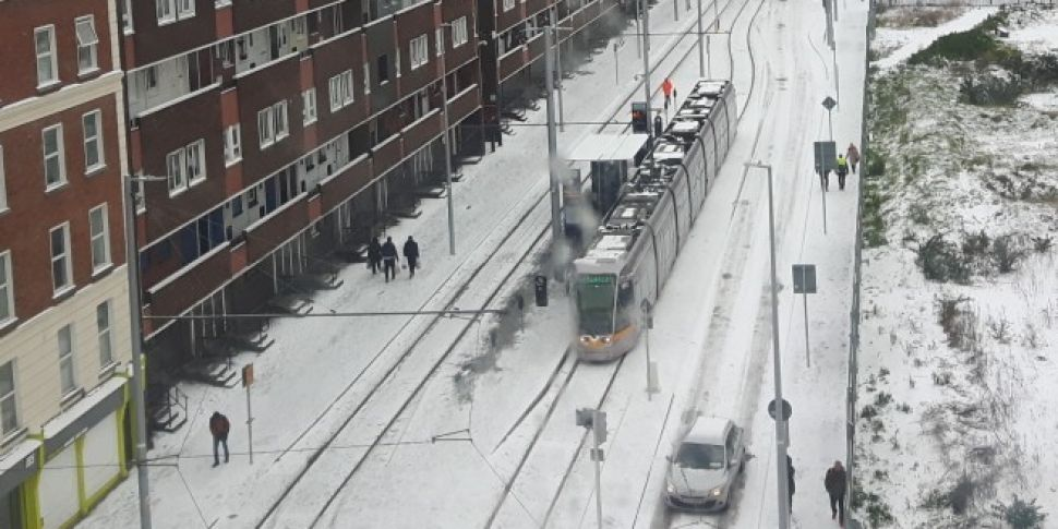 Update On Luas & Irish Rail Services For Thursday