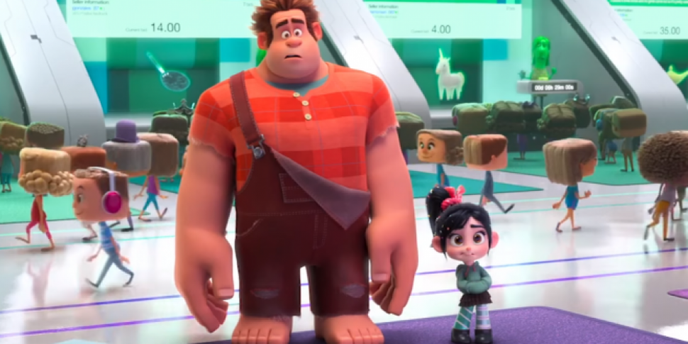 The First Trailer For Wreck It Ralph 2 Is Here