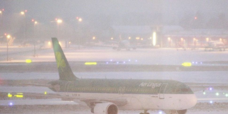 Flights In & Out Of Dublin Airport Suspended Until Saturday Morning