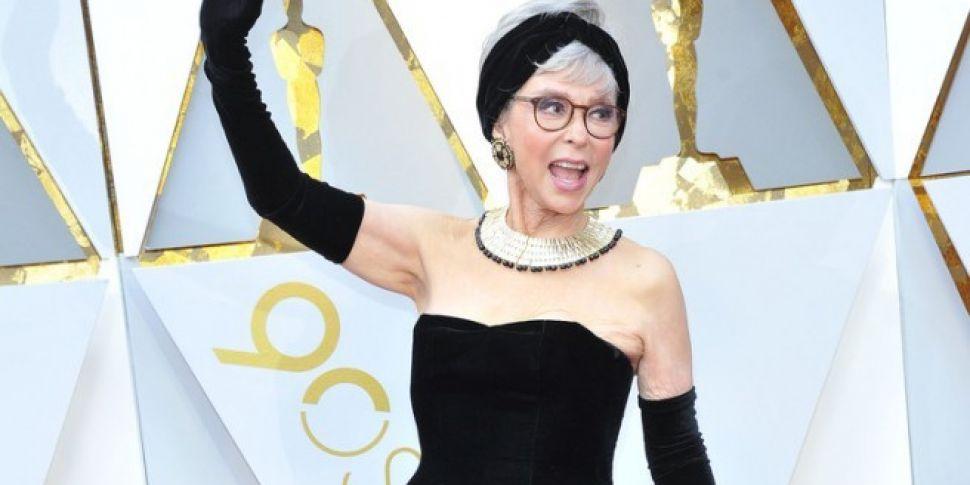 Rita Moreno Wears Same Dress 56 Years Later