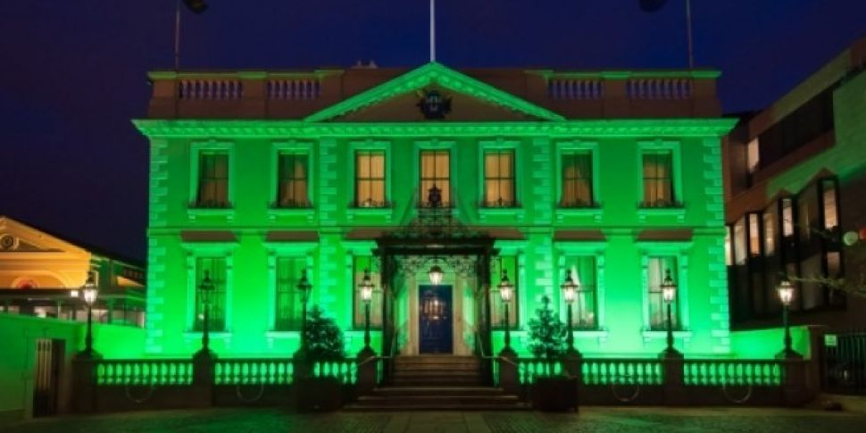 All Of The Dublin Buildings Turning Green For Paddy's Day
