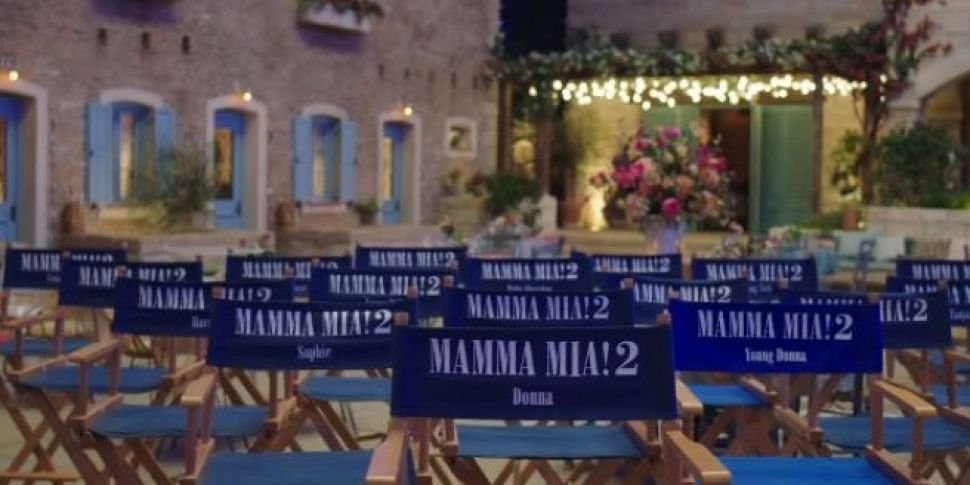 The First Teaser For Mamma Mia...