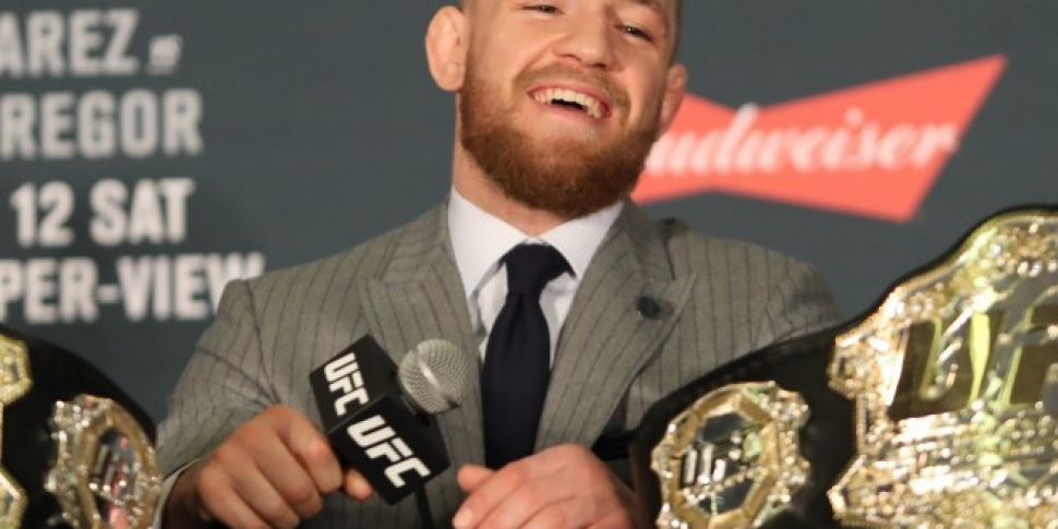 Conor McGregor Held In New Yor...