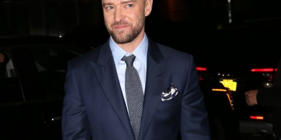 Justin Timberlake's Wesbite Has Been Wiped Clean