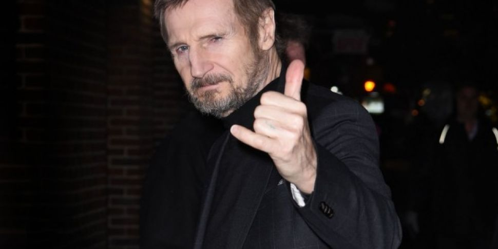 Liam Neeson Joins This Week's Late Late Show Lineup