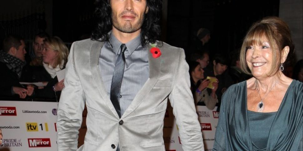 Russell Brand's Mum Involved In Car Crash
