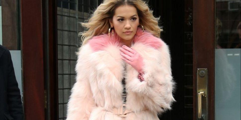 Rita Ora Pays Emotional Tribut...