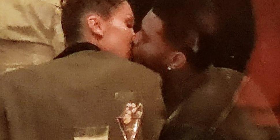 The Weeknd & Bella Hadid Seen...