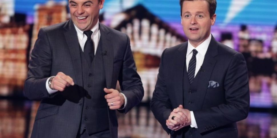 Ant & Dec Pictured Together Fo...