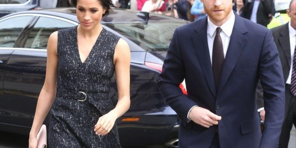 Prince Harry & Meghan Markle&#...