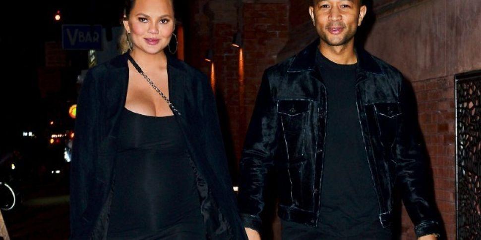 Chrissy Teigen & John Legend W...