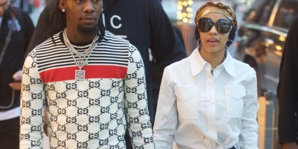 Cardi B And Offset Show Off Matching Lamborghinis