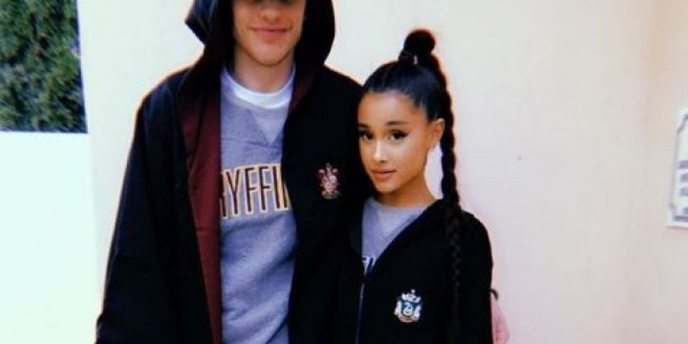 Ariana Grande & Pete Davidson...