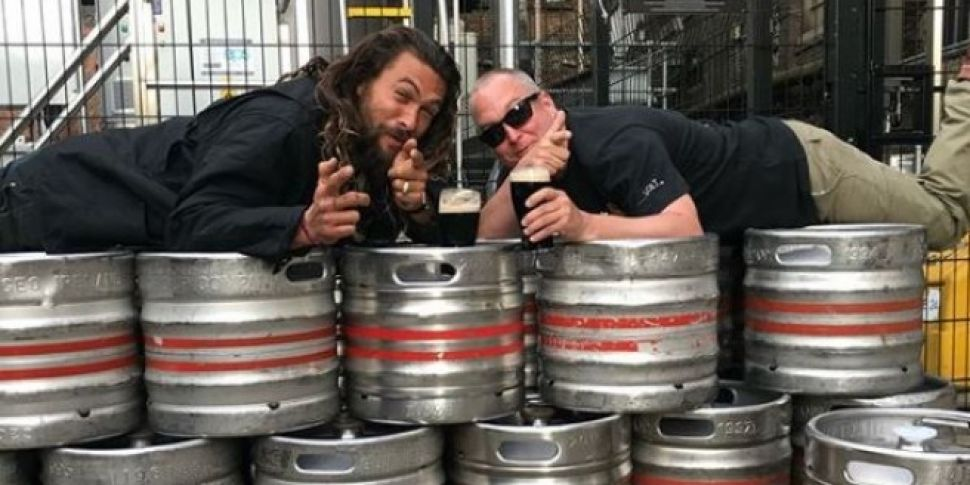 Jason Momoa & Some Game Of Thrones Showrunners Are In Dublin