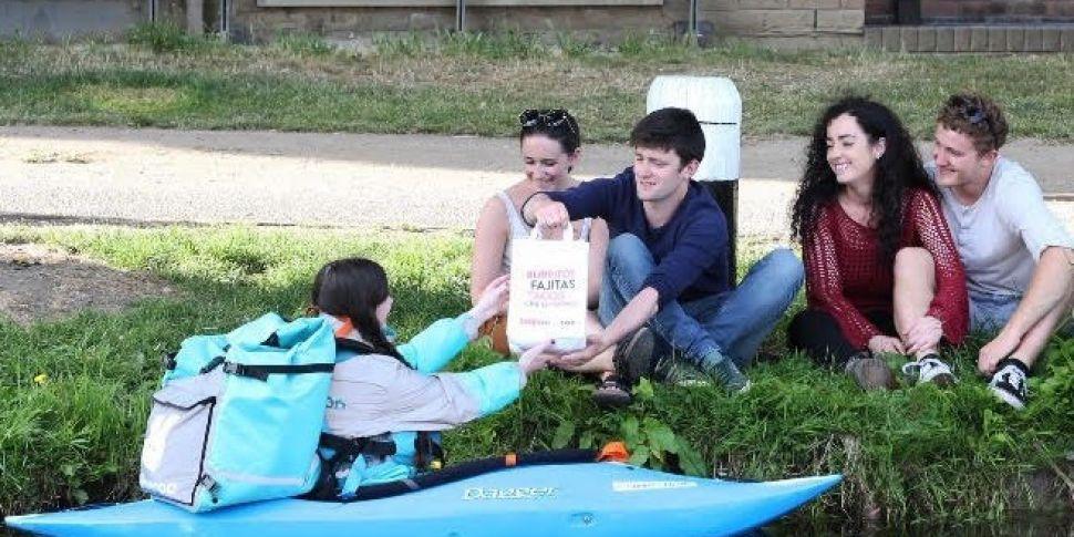 Deliveroo Launch New Kayak Del...