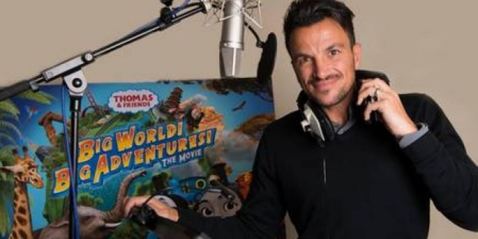 Peter Andre To Star In 'Thomas The Tank Engine'