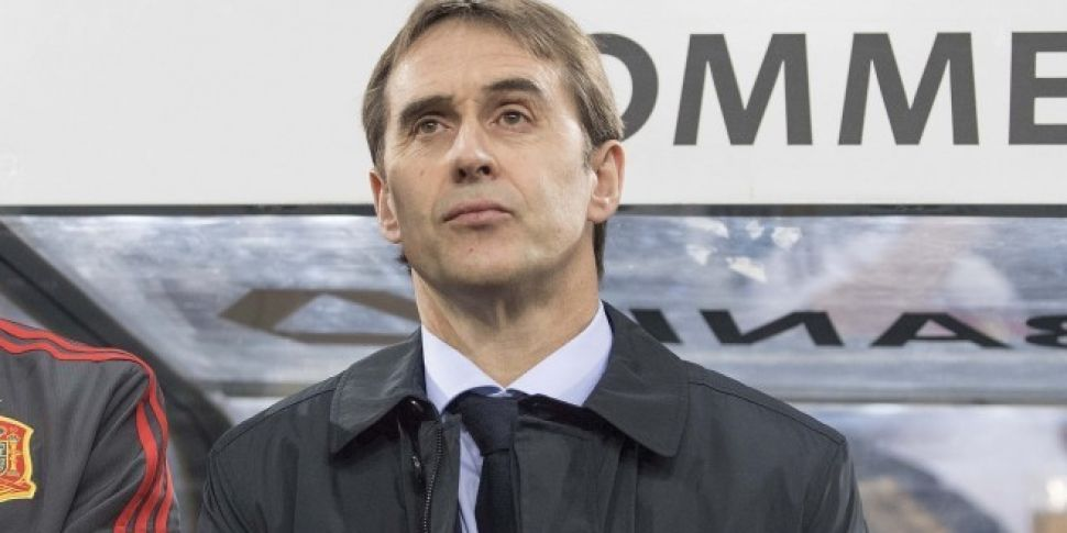 Spain Sack Manager The Day Before The World Cup