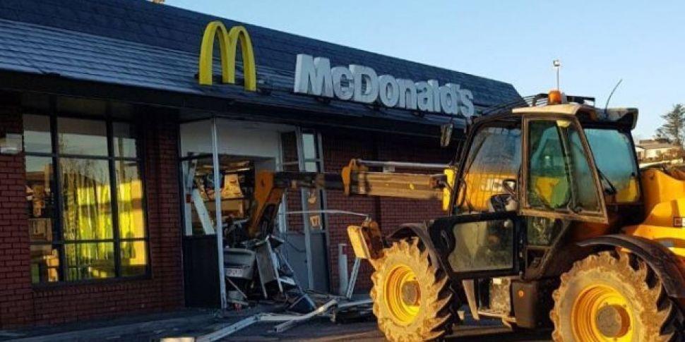 Lidl Offer Support To JCB Damaged McDonalds