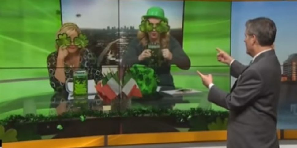 US Breakfast Hosts Go All Out For St. Patrick's Day