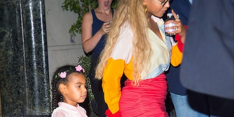 Beyonce And Blue Ivy Went Bargain Shopping Over The Weekend