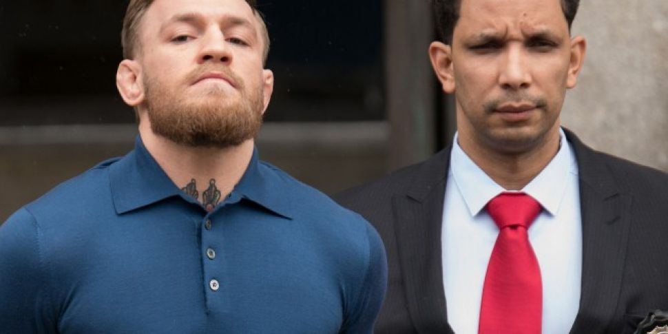 Conor McGregor Released On Bail Of $50,000