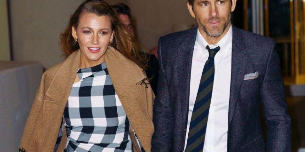 Blake Lively Trolls Husband Ryan Reynolds... Again