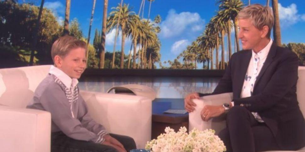 Kid Yodeler Appears On Ellen & Leaves With Huge Surprise