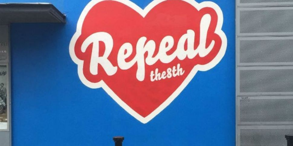 Repeal The 8th Mural In Temple Bar Painted Over