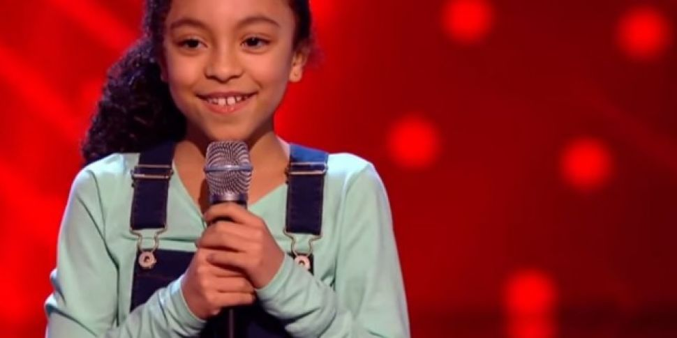 8 Year Old Dublin Schoolgirl Wows The Voice Kids Judges