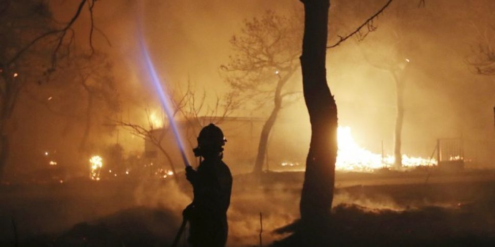 'At Least 50' Feared Dead In Greece Wildfires
