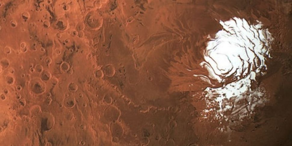 A liquid 'Lake' Has Been Discovered On Mars