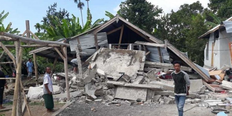 Second Earthquake Hits Indonesian Island Of Lombok