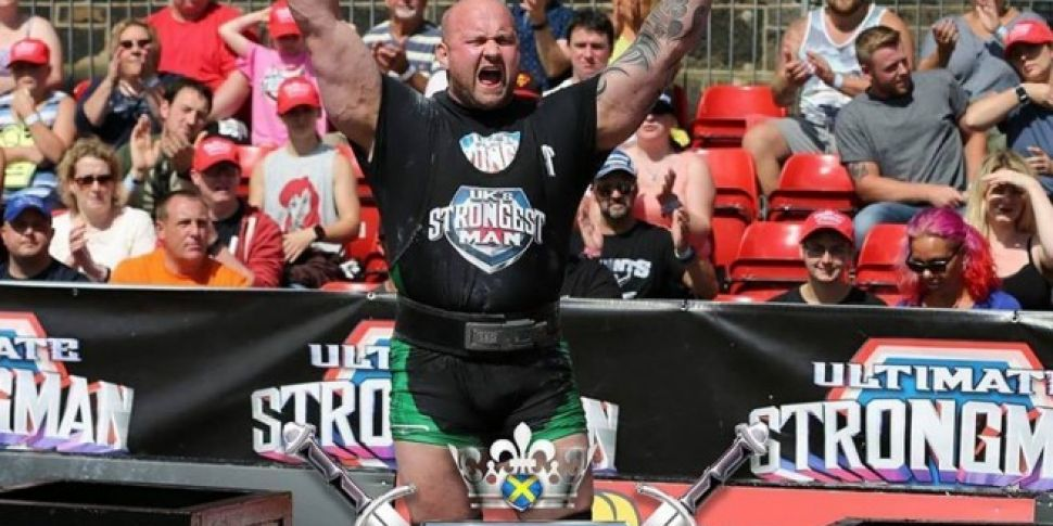 Ireland's Strongest Man Claims UK's Strongest Man Title