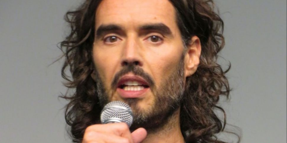 Russell Brand Visits The Happy...