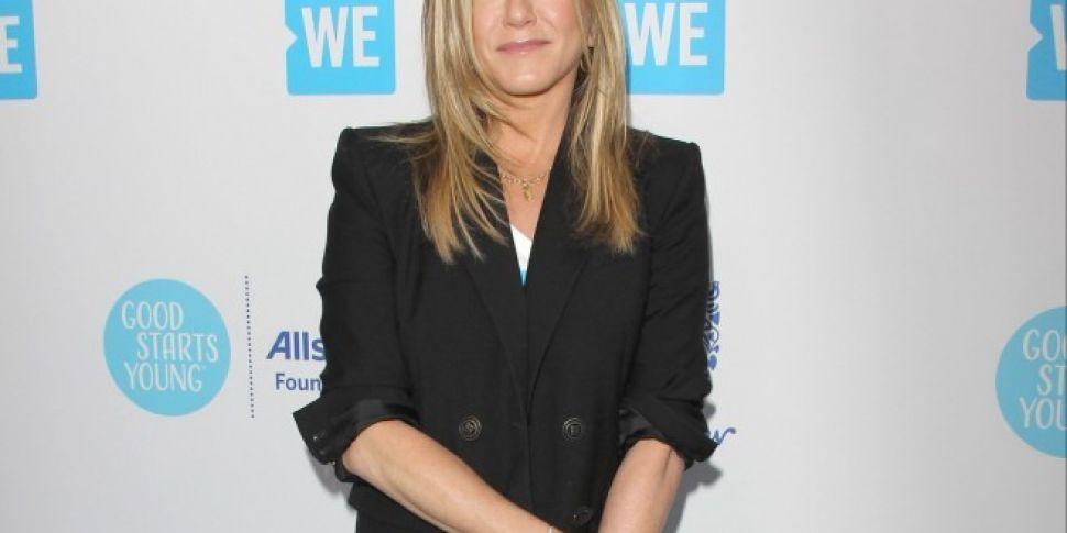 Jennifer Aniston Talks Friends Reunion