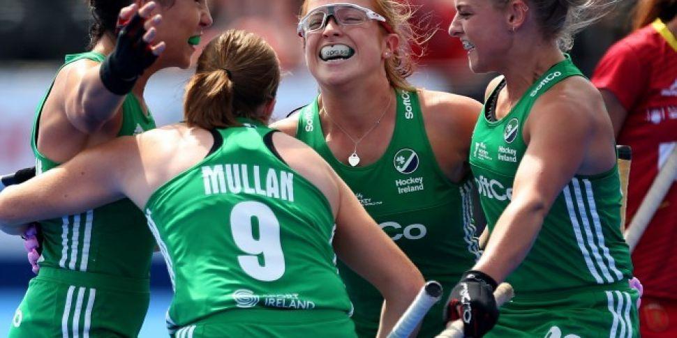Irish Women's Hockey Team...