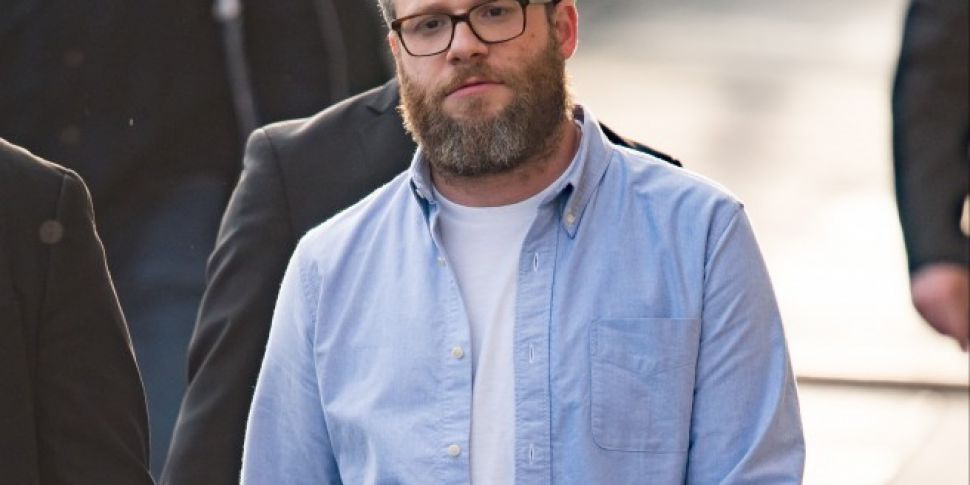 Seth Rogen Ripped His Trousers Before Going On Stage